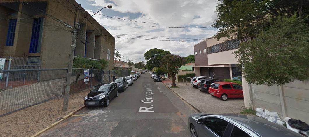 Rua Gonçalves César em Campinas